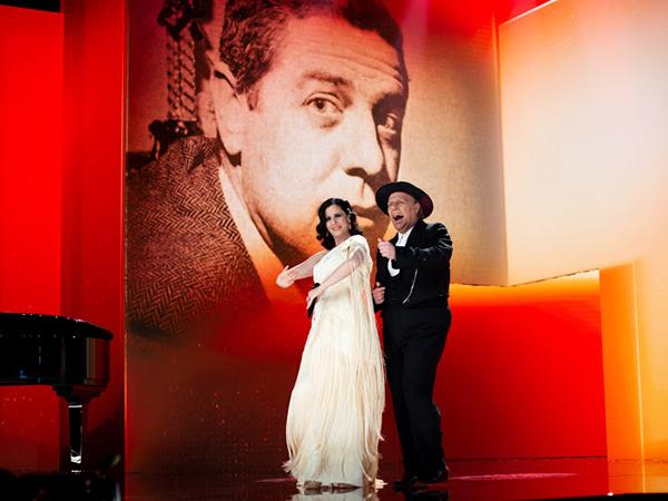 mejores momentos de la gala de los Goya 2021 diana navarro y carlos latre