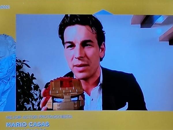 mejores momentos de la gala de los Goya 2021 Mario casas