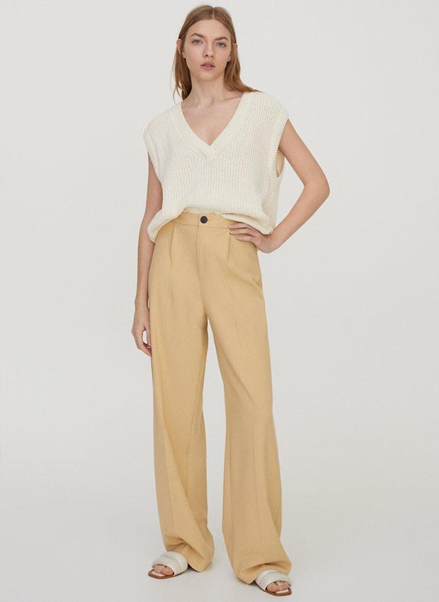 Pantalones de pinzas de Pull&Bear