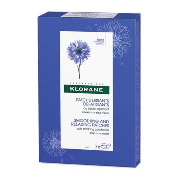 Parches alisantes antifatiga de Klorane