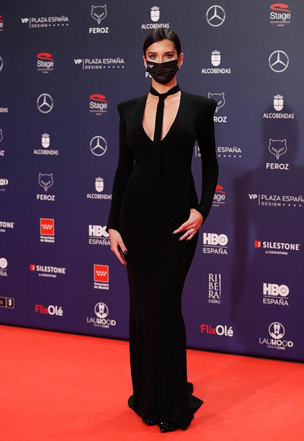 Lola Rodriguez en la alfombra roja de los Premios Feroz