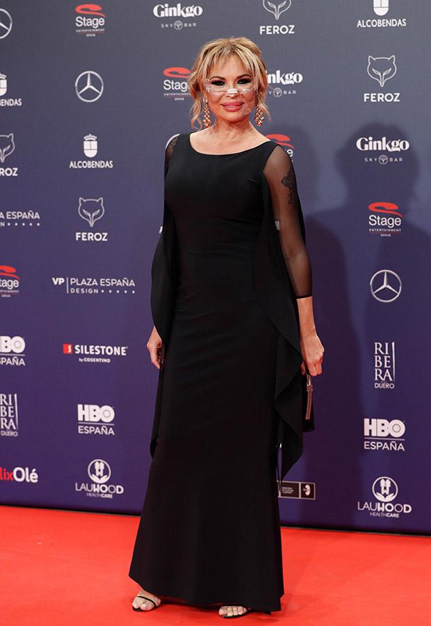 Isabel Torres en los Premios Feroz 2021
