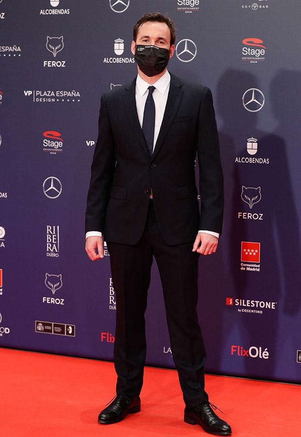 Iñigo Aranbarri en los Premios Feroz 2021