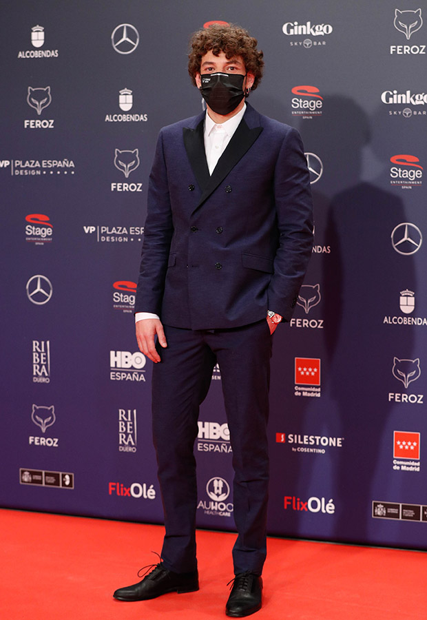Jon Olivares en los Premios Feroz 2021