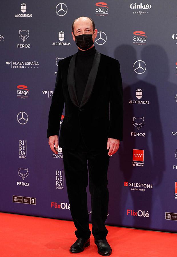 Mikel Laskurain en los Premios Feroz 2021