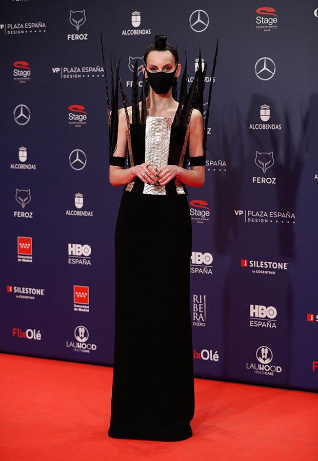 Milene Smith en los Premios Feroz 2021