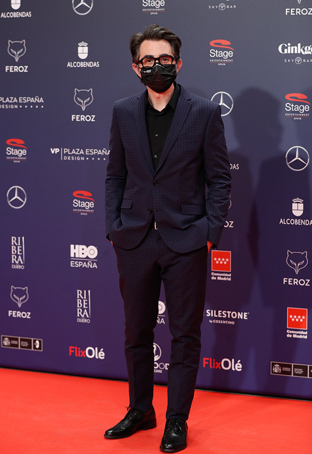 Berto Romero en los Premios Feroz 2021