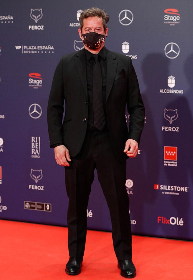 Jorge Sanz en los Premios Feroz 2021