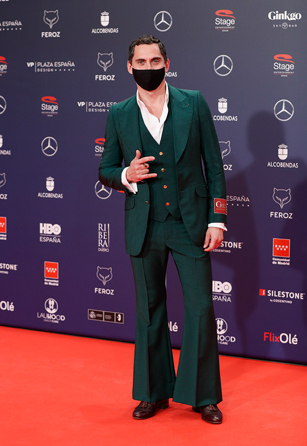 Paco Leon en los Premios Feroz 2021
