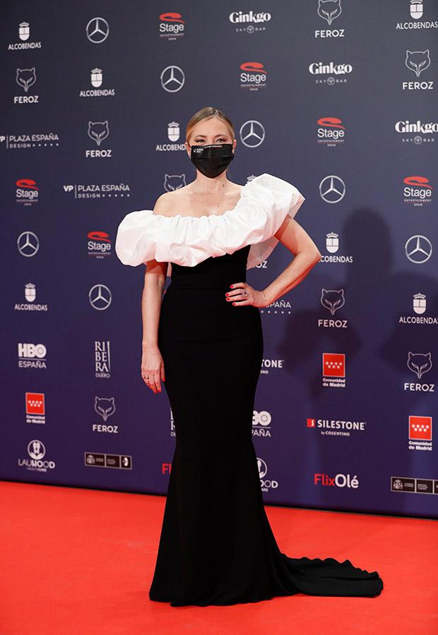 Pilar Castro en los Premios Feroz 2021