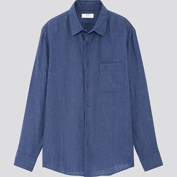regalos día del padre diferentes: Camisa de lino de Uniqlo