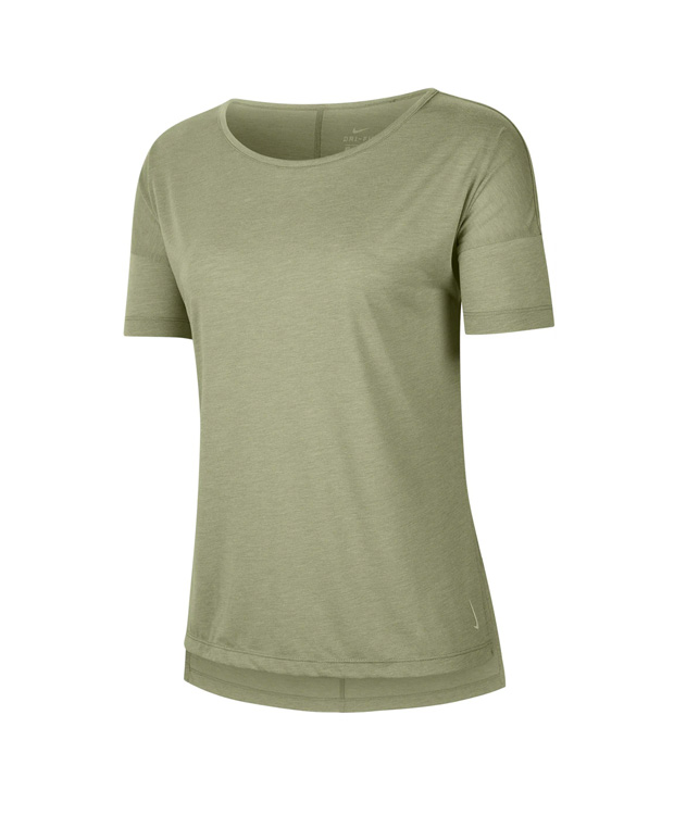 Camiseta verde de Yoga Nike