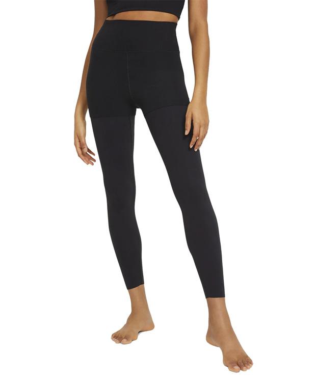 Mallas negras y grises de Nike Yoga