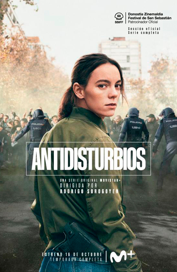 series protagonizadas por mujeres Antidisturbios