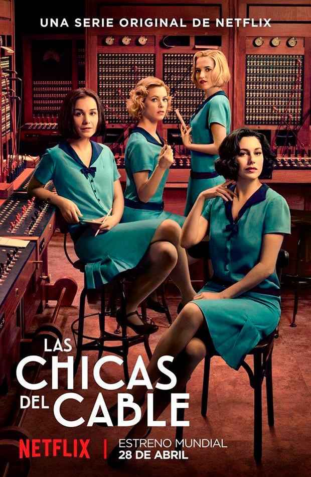 Las chicas del cable series protagonizadas por mujeres