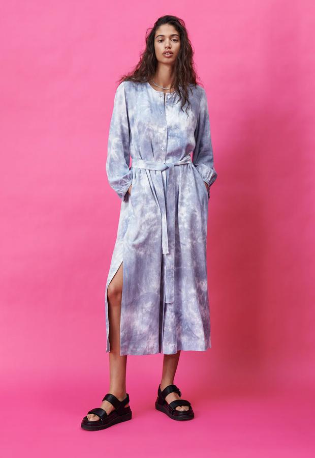 Vestido bohemios de Zara desteñido