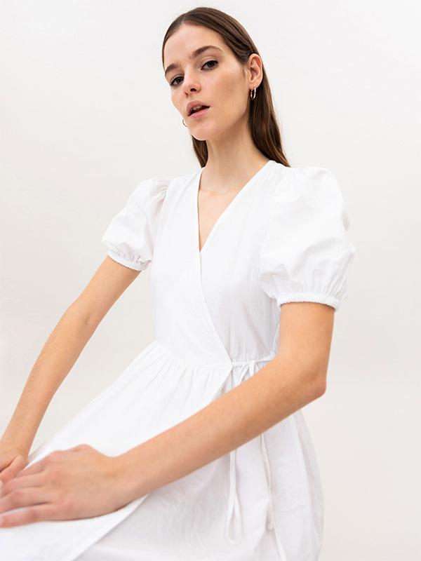 Vestido de Lefties barato en blanco