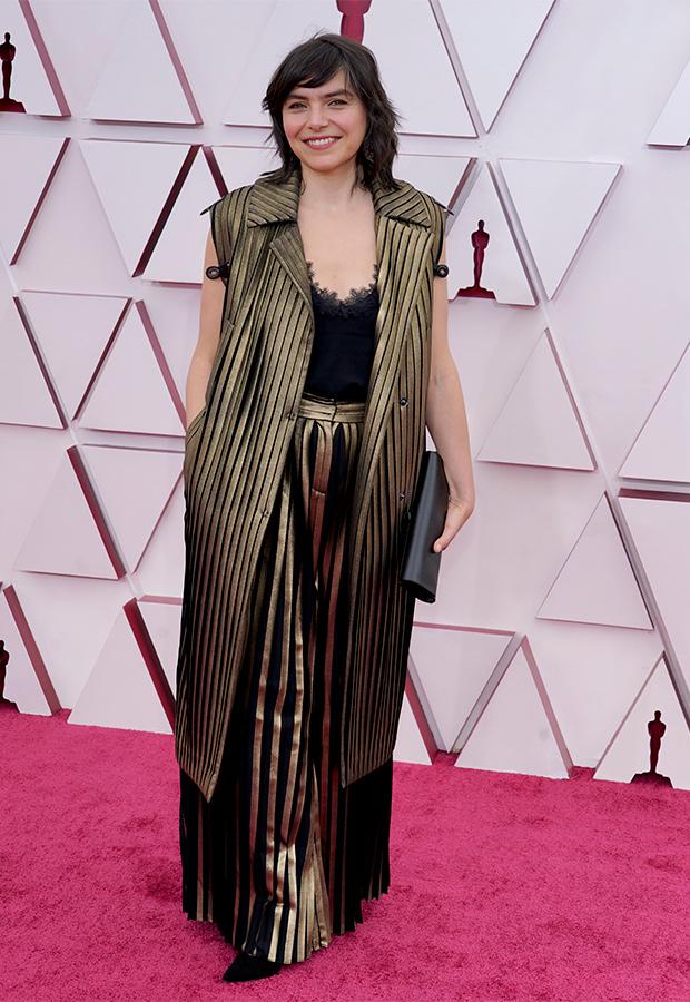 Bianca Oana en la Alfombra roja de los Premios Oscar 2021