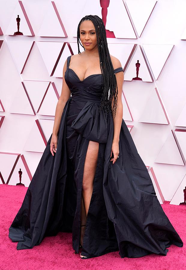 Nicolette Robinson en los Oscar 2021