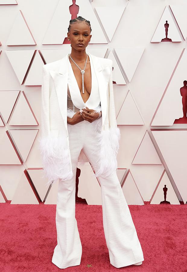 Tiara Thomas en los Oscar 2021