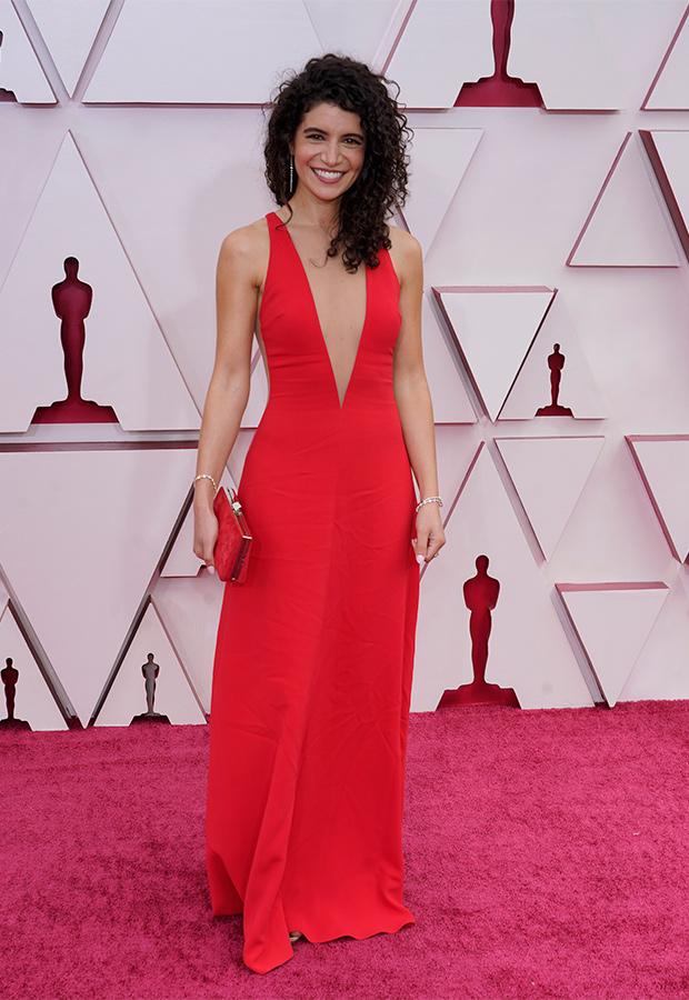 Nina Pedrad en los Oscar 2021