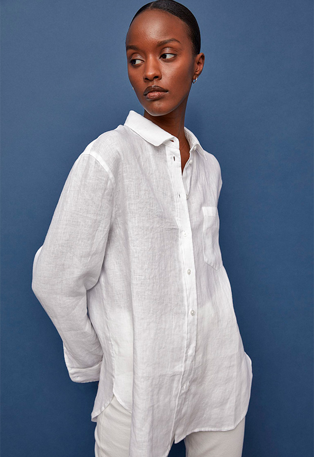 Camisa oversize de H&M