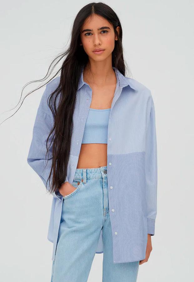 Camisa oversize de Pull&Bear