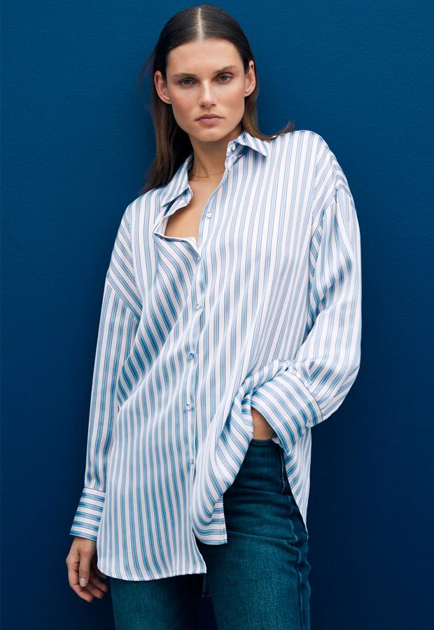 Camisa oversize de Zara