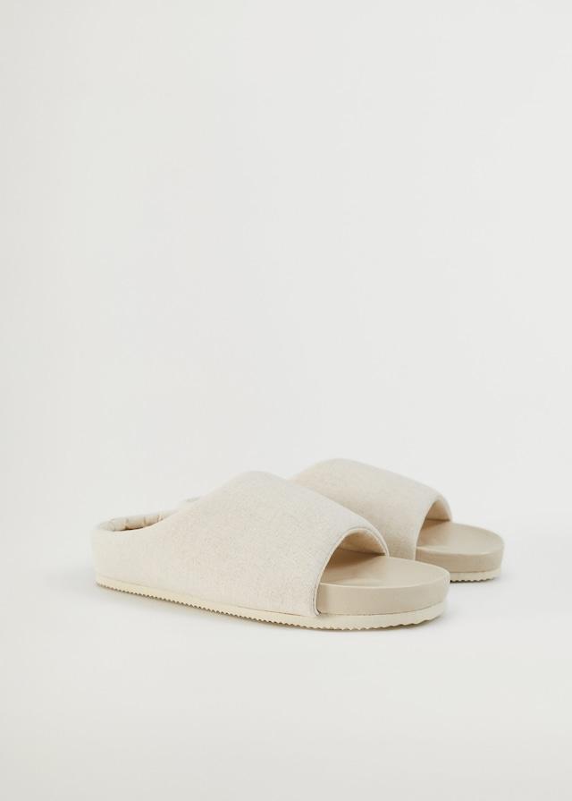 zapatillas de Mango Casa