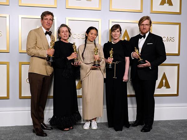 mejores momentos de la gala de los Oscars 2021 nomadland