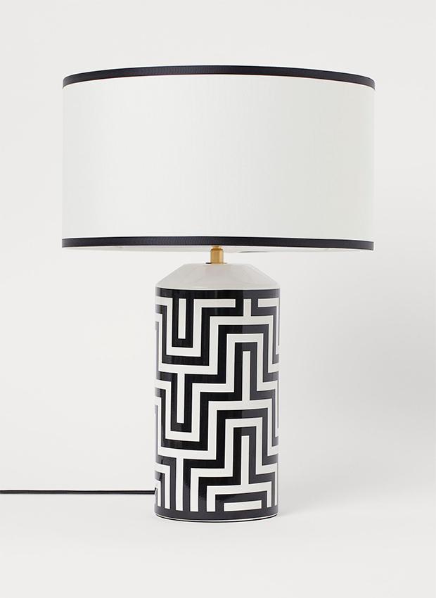 Base de lámpara de las novedades H&M Home