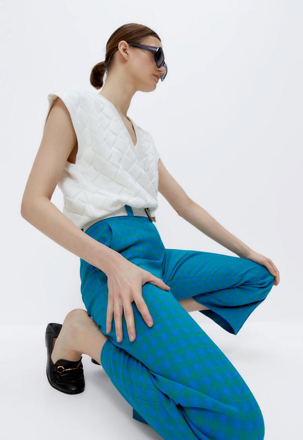 Pantalones coloridos de Uterqüe