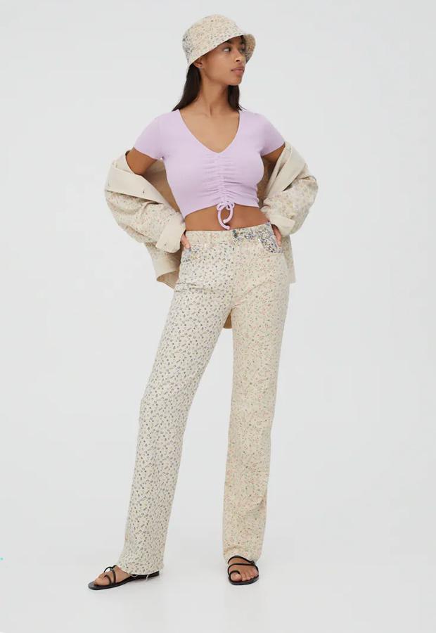 Pantalones coloridos de Pull&Bear