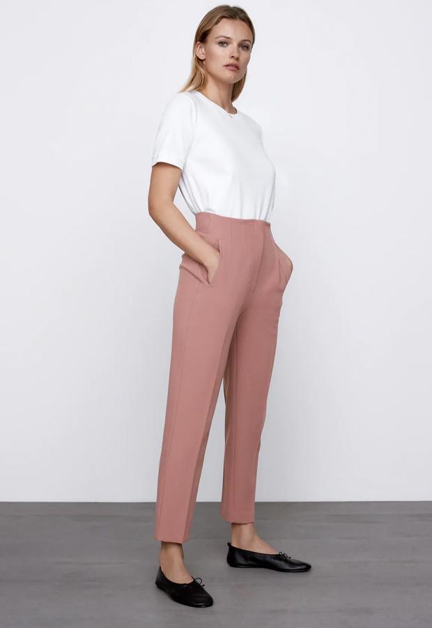 Pantalones coloridos de Zara