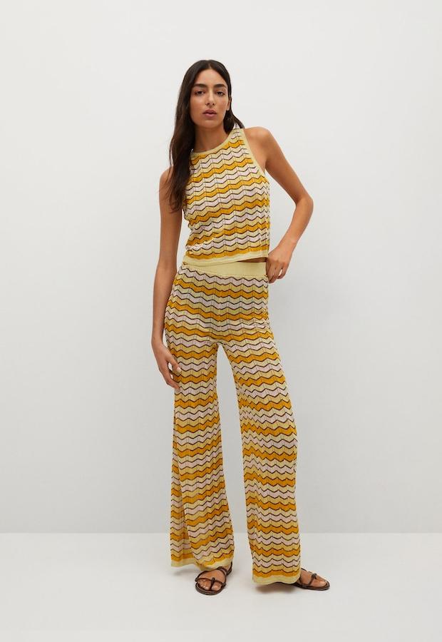 Pantalones coloridos de Mango