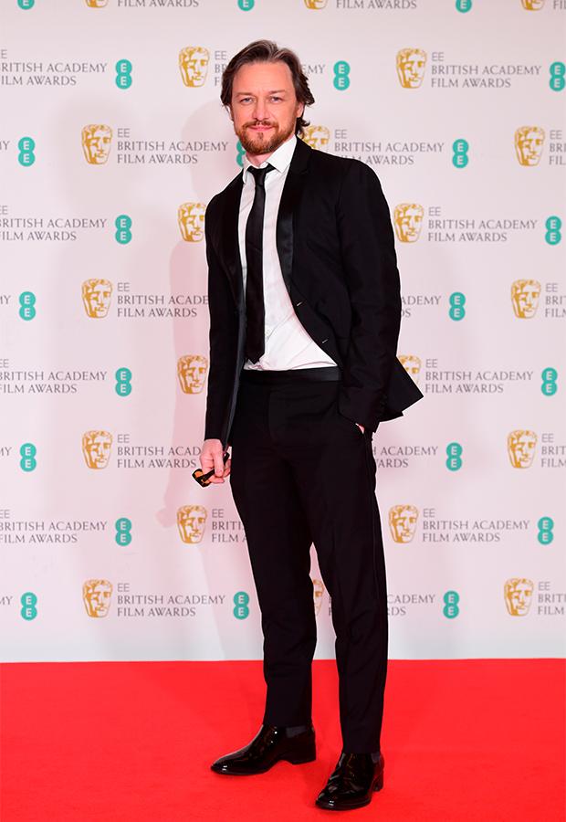 James McAvoy Premios BAFTA 2021