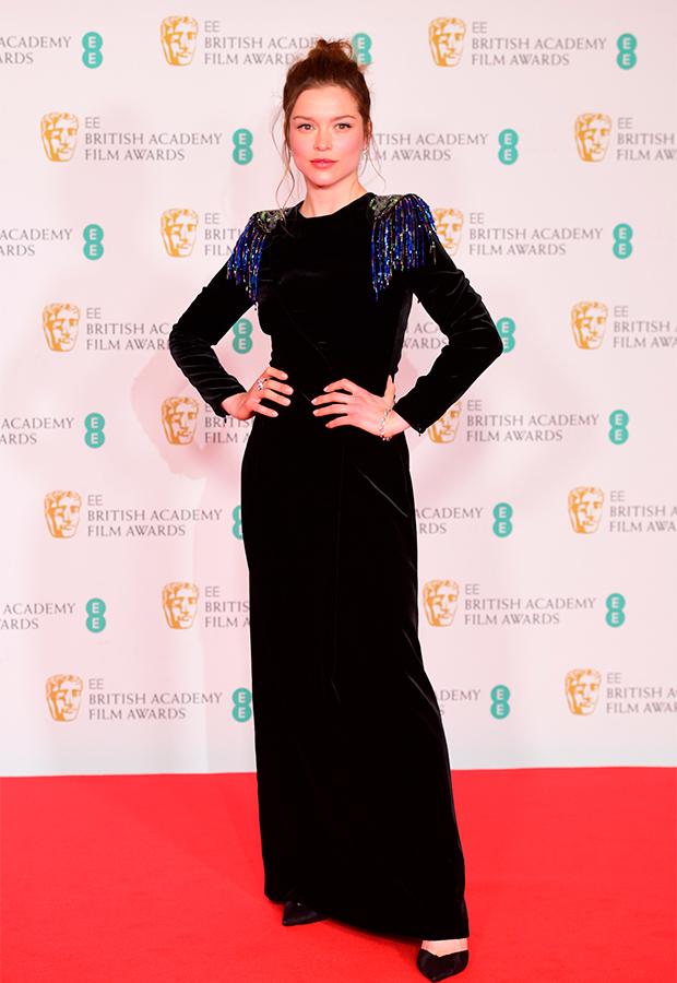 Sophie Cookson Premios BAFTA 2021