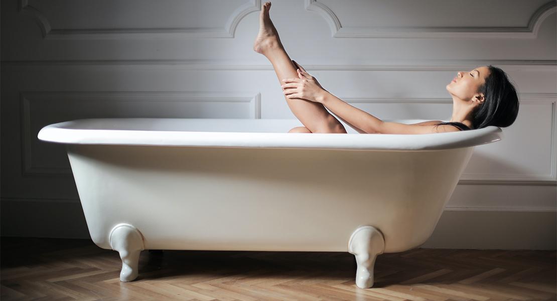Suelo de madera en baños