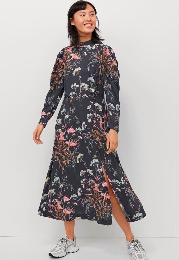 Vestido de flores de H&M