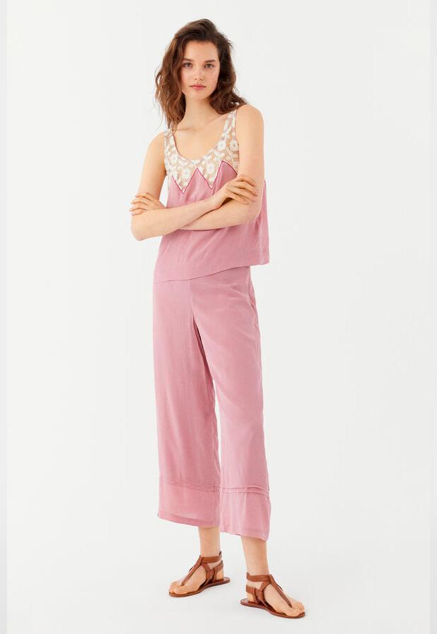 Pantalones cropped de Hoss Intropia