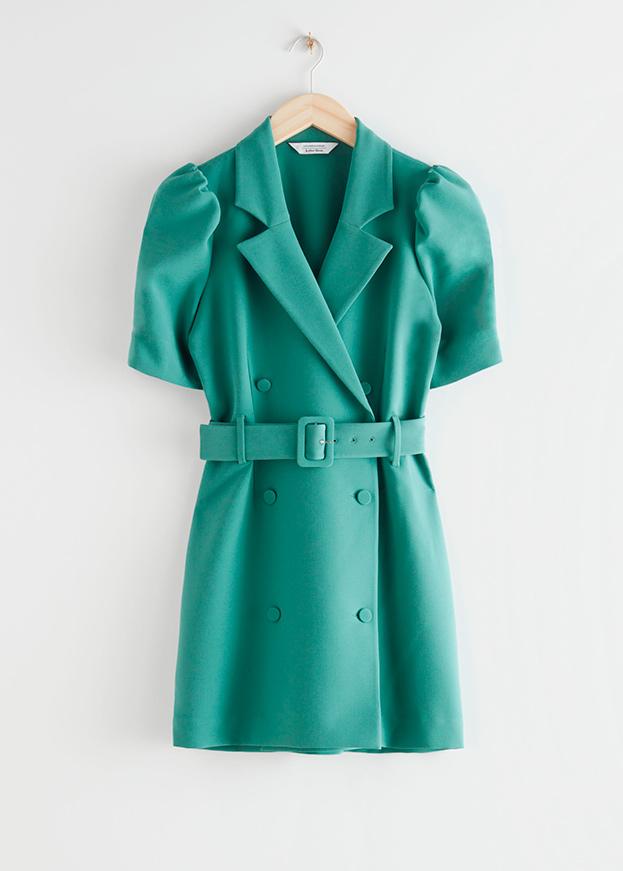 Vestido de & Other stories de primavera estilo blazer