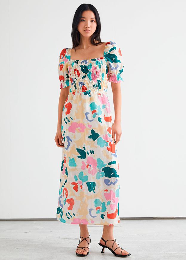 Vestido de & Other stories de primavera multicolor