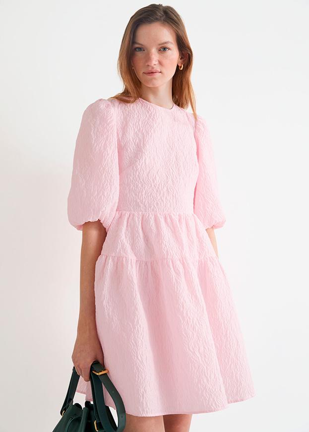 Vestido de & Other stories de primavera en rosa