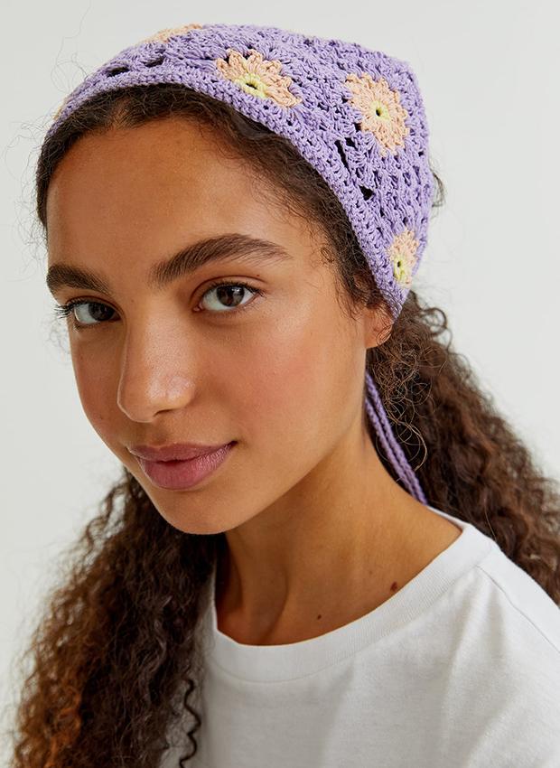 accesorios de verano Pañuelo de crochet de Pull & Bear