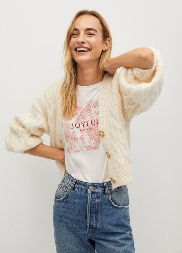 Camiseta de mujer con bordados