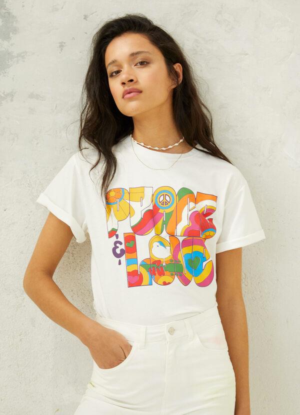 Camiseta de mujer hippie