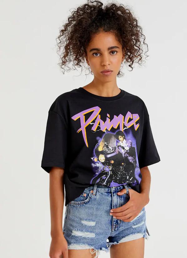Camiseta de mujer con ilustración