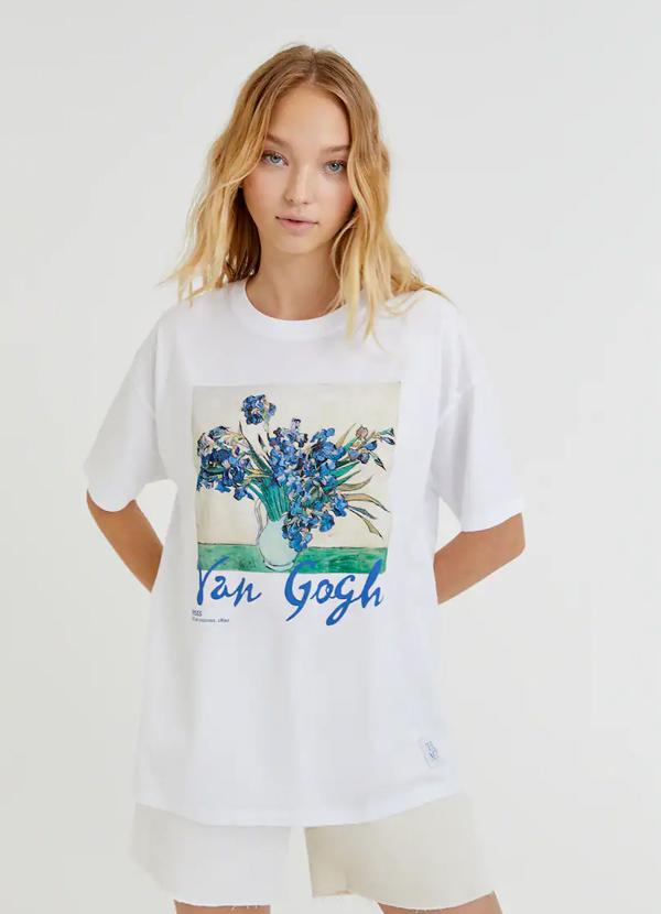 Camiseta de mujer estampada