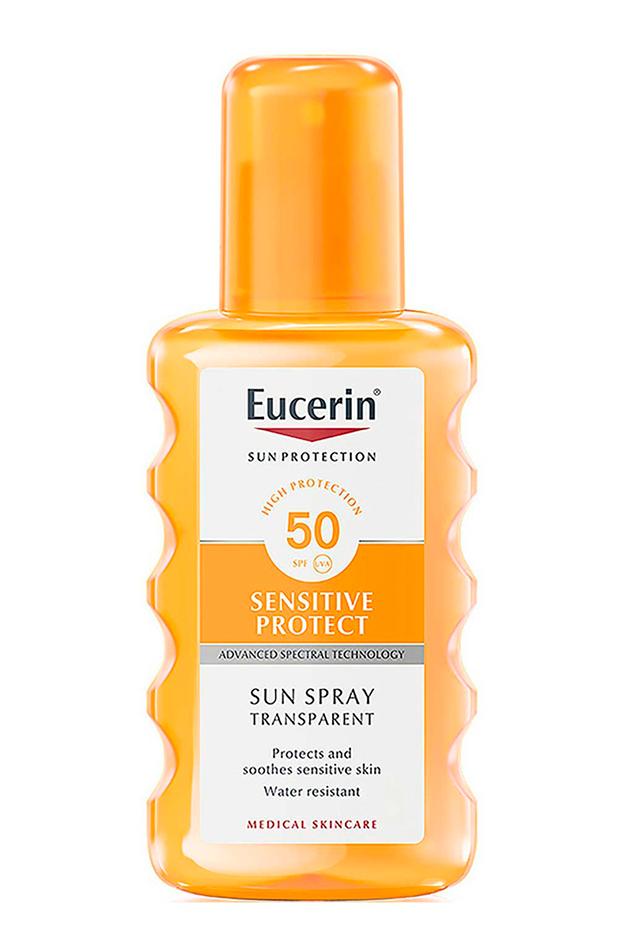 crema de protección solar Protector solar Sun Spray de Eucerin