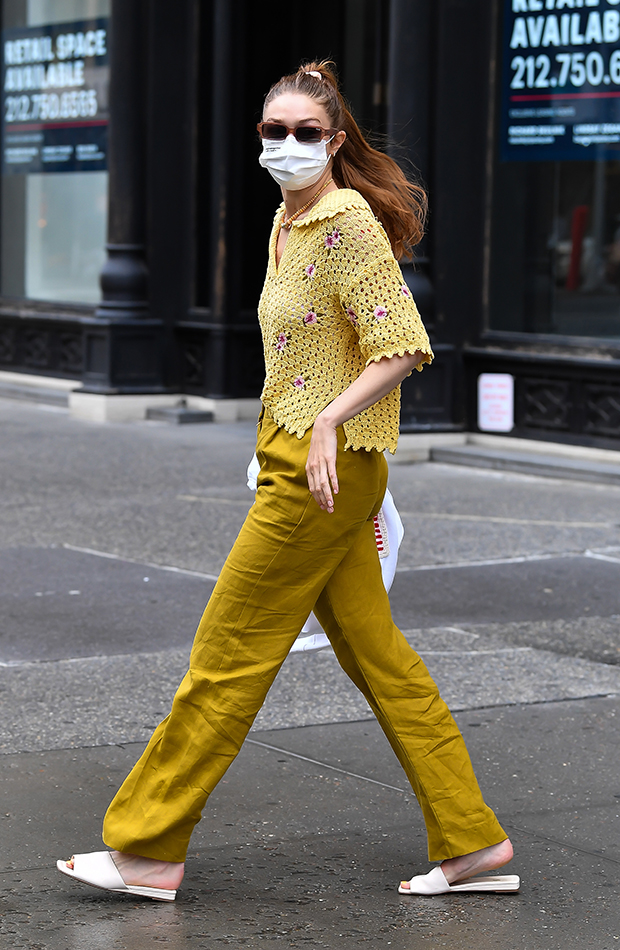looks de las celebrities Gigi Hadid